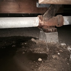 water leak repair. slab leak plumbing